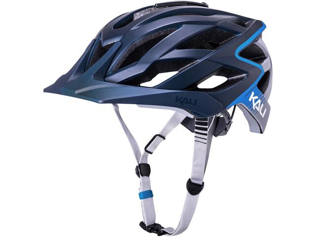 Kali Lunati Cykelhjelm grå/blå (2019) | Helmets